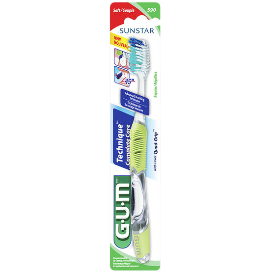 G.U.M. Technique+ Full Head Toothbrush - Soft
