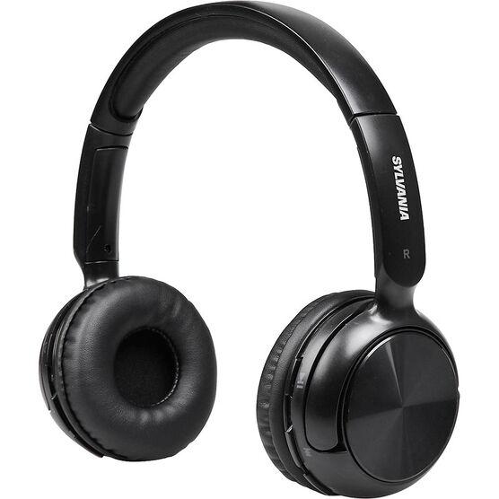 Sylvania Bluetooth Headphones - Black - SBT235BLA