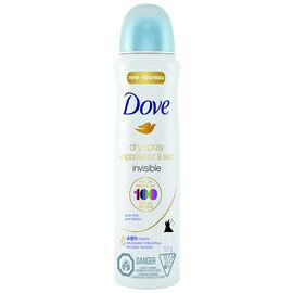 Dove Women Dry Spray Antiperspirant - Sheer Finish - 107g