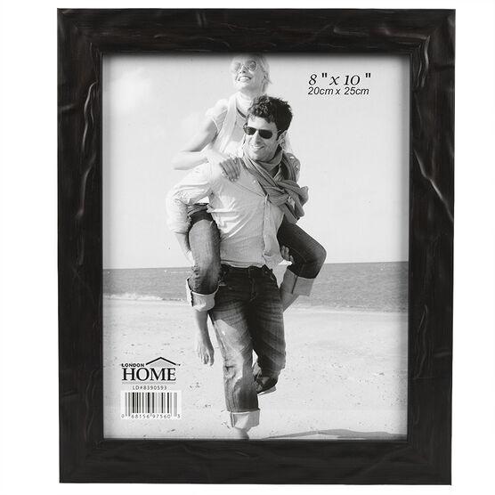 London Home Black Metallic Frame - 8x10