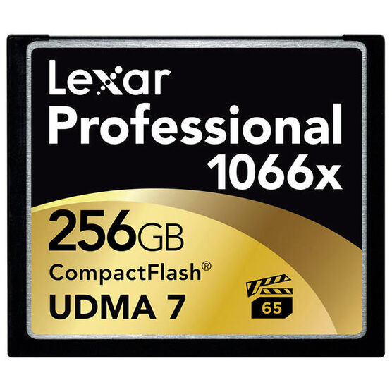 Lexar 1066x Pro CompactFlash Memory Card - 256GB
