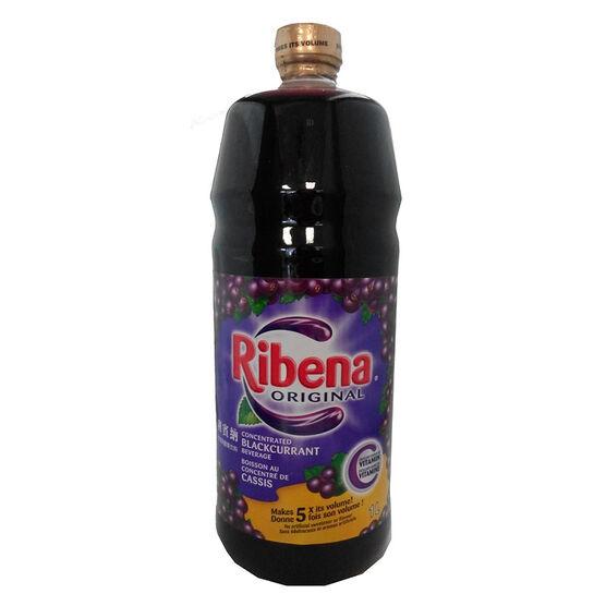 Ribena Original Concentrated Blackcurrant Nectar - 1L