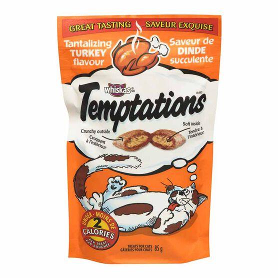 Whiskas Temptations Treats for Cats - Tantalizing Turkey - 85g