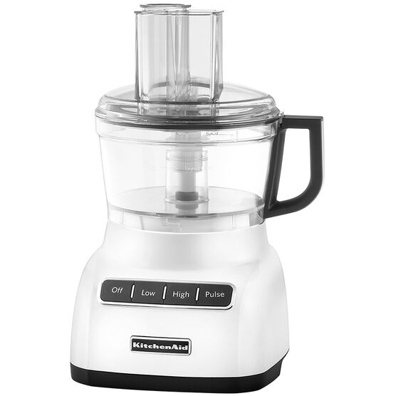 KitchenAid 7 Cup Food Processor with ExactSlice System - White - KFP0711WH