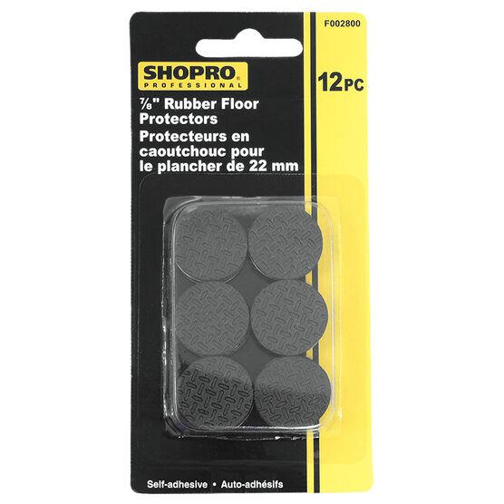 Shopro 22mm Rubber Floor Protectors - 12's