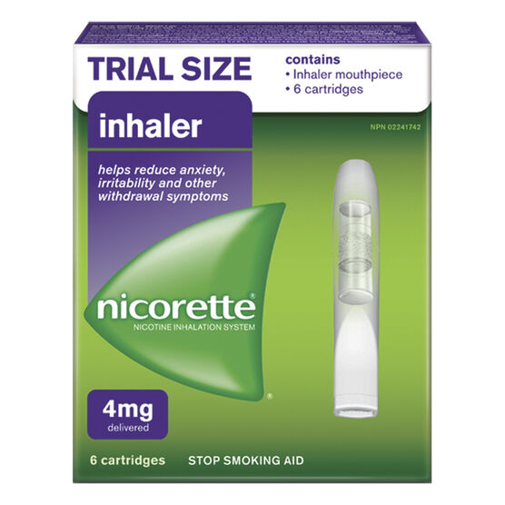 Nicorette Inhaler Trial Size - 6's