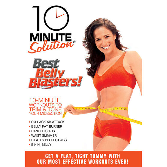 10 Minute Solution: Best Belly Blasters! - DVD