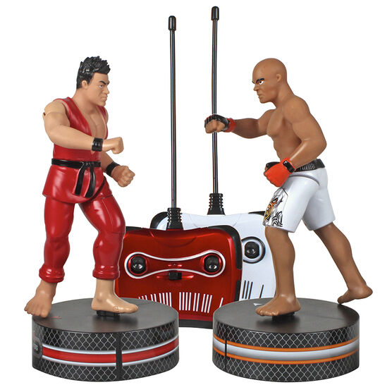 Blue Hat Remote Control MMA Cage Fighters