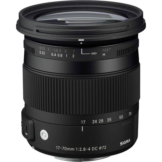 Sigma 17-70mm F2.8-4 DC Macro HSM Lens for Pentax - CAF1770DCP