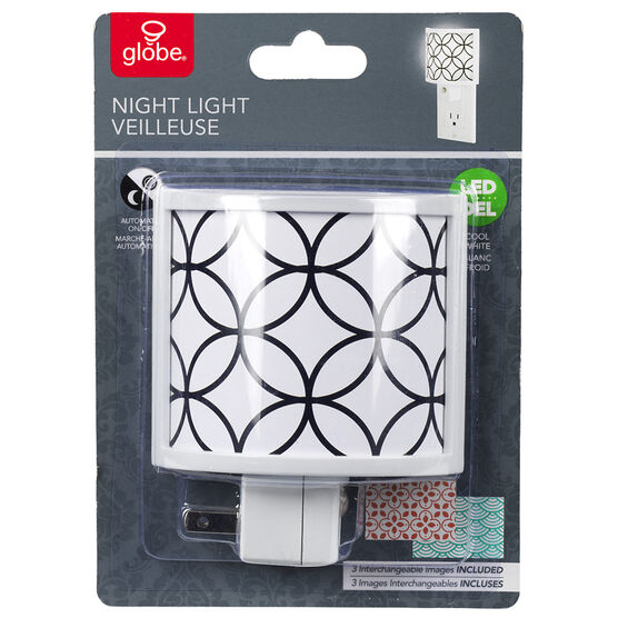 Globe LED Shade Night Light - Multi - 89311