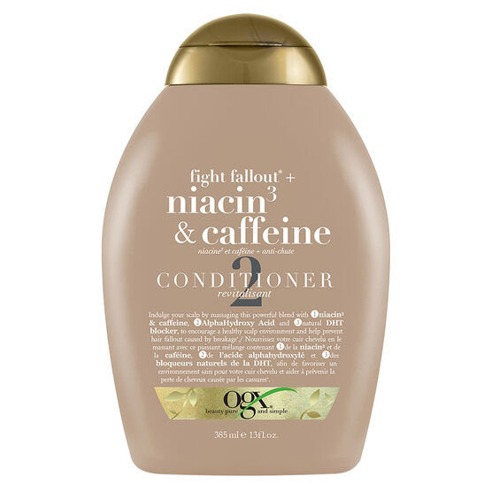 OGX Niacin3 & Caffeine Conditioner - 385ml