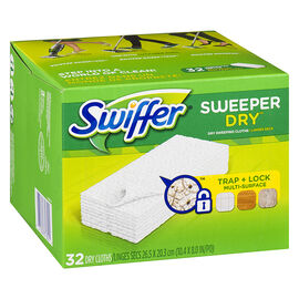 Swiffer Sweeper Cloths Refill - 32's
