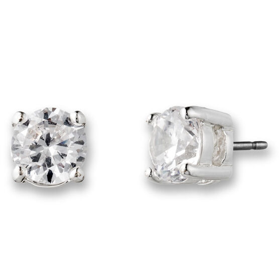 Lonna Lilly Pendant CZ Stud Earrings