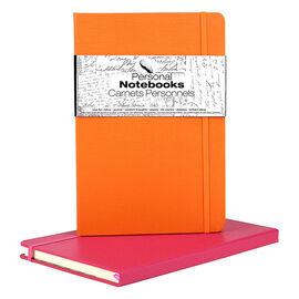 Spicebox Personal Notebook - Pink/Orange - 2 Pack