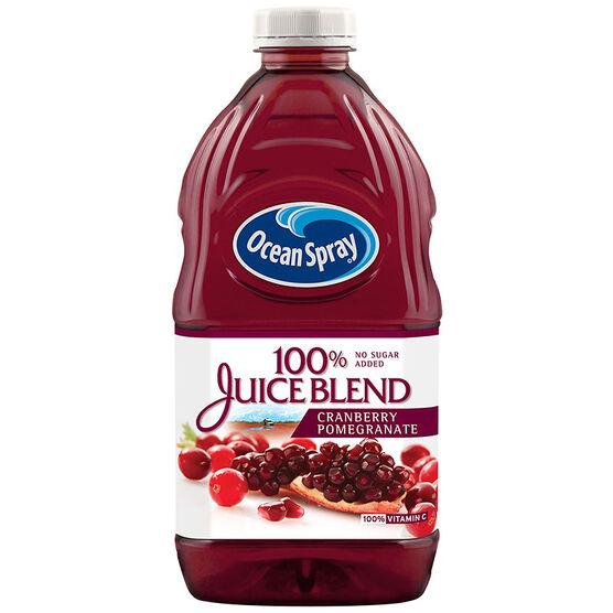 Ocean Spray 100% Juice Blend - Cranberry & Pomegranate - 1.77L