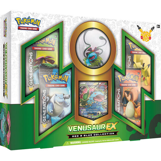 Pokémon Red & Blue Collection - Venusaur Ex