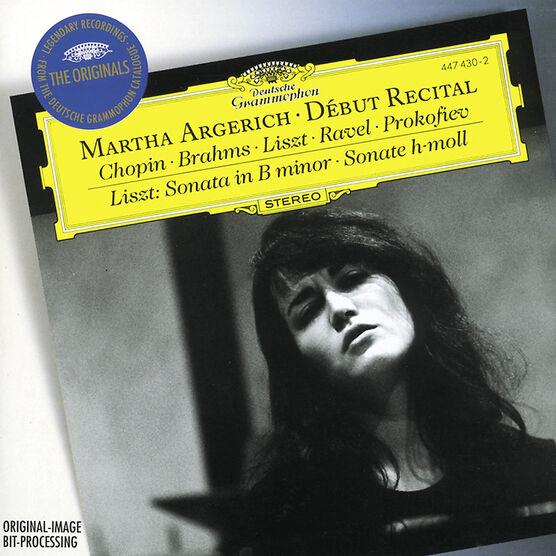 Martha Argerich - Debut Recital: Music by Chopin, Brahms, Prokofiev, Ravel, Liszt - CD