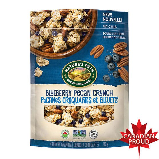 Nature's Path Granola - Blueberry Pecan Crunch - 312g