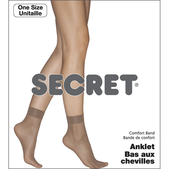Secret Low Cut Comfort Band - Nude