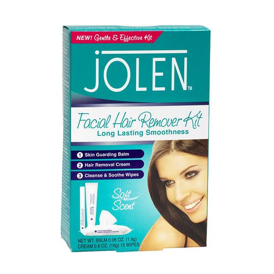 Jolen Facial Hair Remover Kit