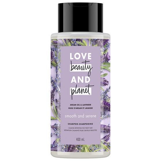 Love Beauty And Planet Smooth & Serene Shampoo - Argan Oil & Lavender - 400ml