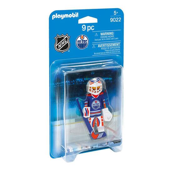 Playmobil NHL Oilers Goalie