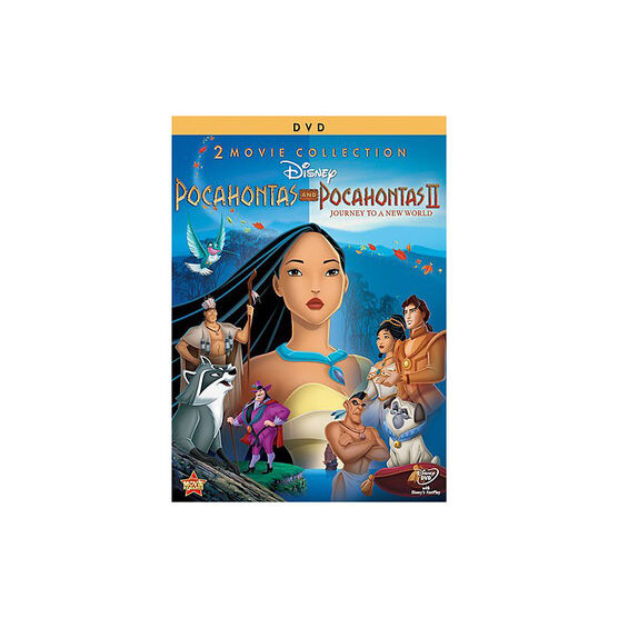 Pocahontas / Pocahontas II: Journey to a New World - DVD
