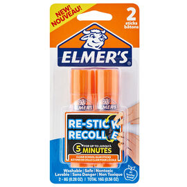 Elmer's Restick Glue Stick - 2x8g