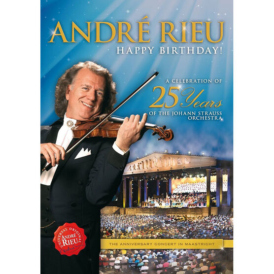 Andre Rieu - Happy Birthday! - DVD