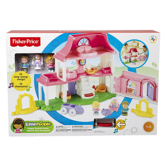 Fisher Price Little People Happy Sounds Home