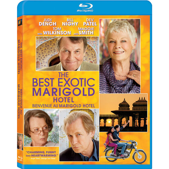The Best Exotic Marigold Hotel - Blu-ray