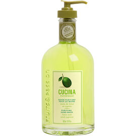 Fruit & Passion Cucina Hand Soap - Lime Zest and Cypress - 500ml