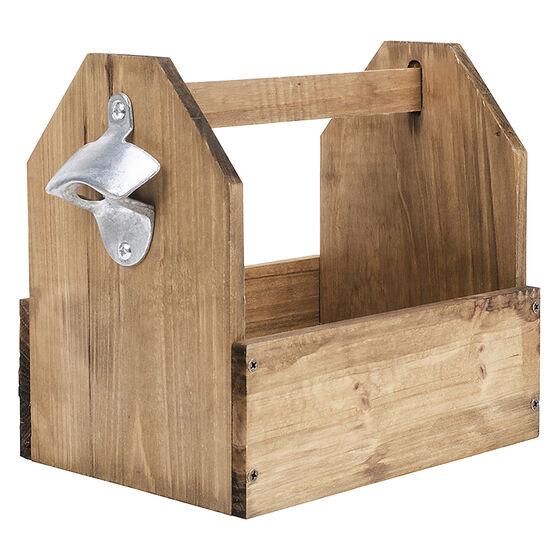 Perfect Solutions Wood Bottle Caddy - ST9904LD17