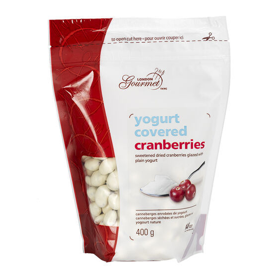 London Gourmet Cranberries - Yogurt - 400g