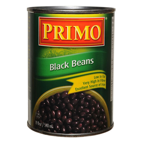Primo Black Beans - 540ml