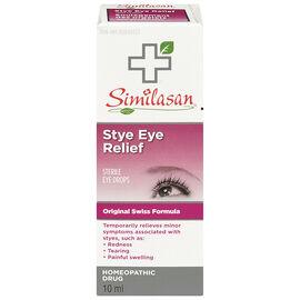 Similasan Stye Eye Relief Eye Drops - 10ml