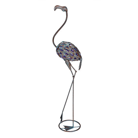 London Drugs Solar Metal Flamingo -  Straight Neck
