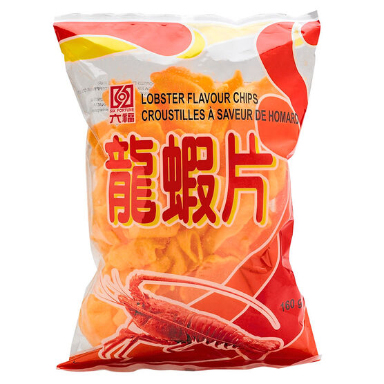Six Fortune Lobster Chips - 160g