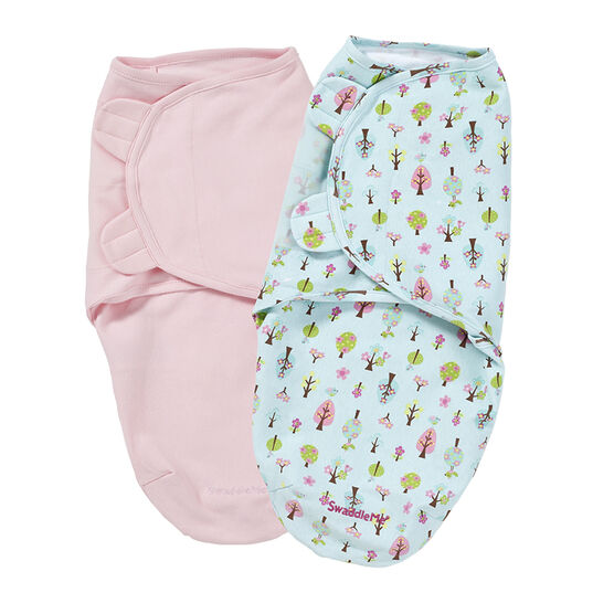 Summer Infant Swaddle Me - 2 pack - Sweet Tree - 74326