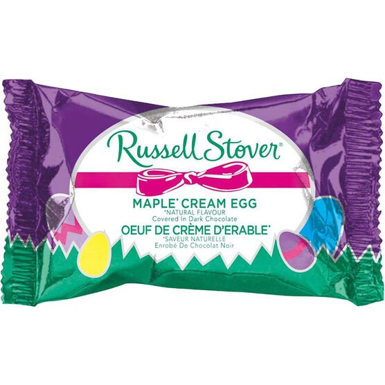 Russell Stover Egg - Maple Cream - 28g