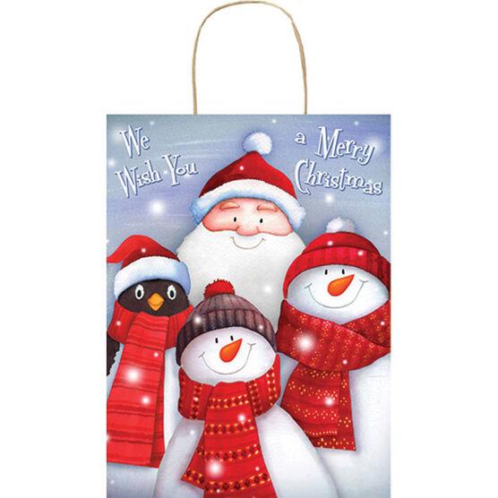 Christmas Snow Friends Gift Bag - Large - 14243938-BARO
