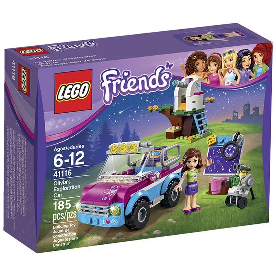 Lego Friends - Olivia's Exploration Car