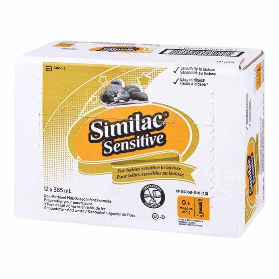 Similac Lactose Free Liquid Concentrate - 12 x 385ml
