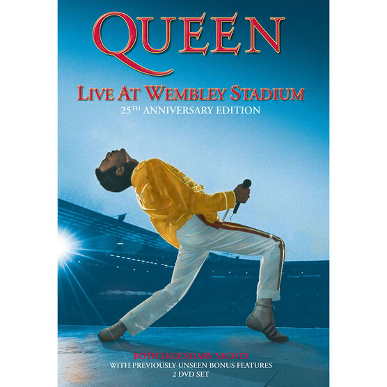 Queen: Live at Wembley Stadium - DVD