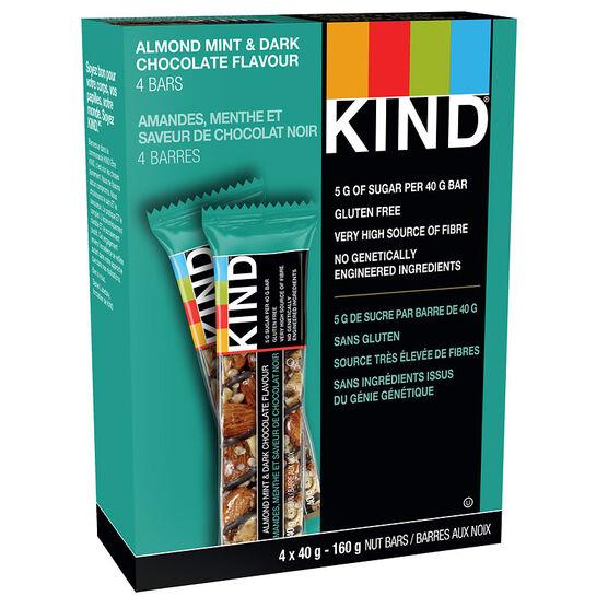 Kind Bars - Dark Chocolate Almond Mint - 4 pack