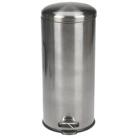 London Drugs Stainless Steel Garbage Bin - 30L