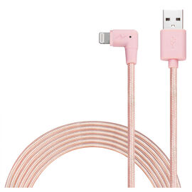 Logiix Piston Connect XL 90 Lightning Cable - Rose Gold - LGX12302