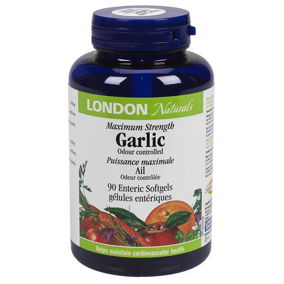 London Naturals Garlic Maximum Strength - 90's