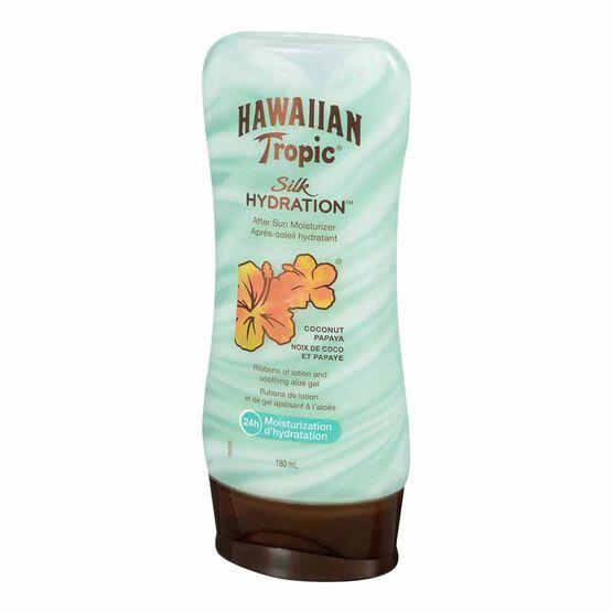 Hawaiian Tropic Silk Hydration After Sun Moisturizer - Coconut Papaya - 180ml