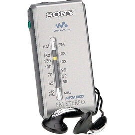 Sony AM/FM Walkman Radio - Silver - SRFS84